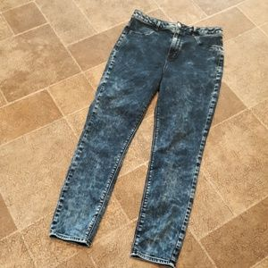 AEO women's size 14 skinny high jegging jeans